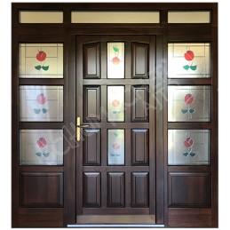 Aív-v - Fa bejárati ajtók