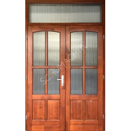 V6 - Fa bejárati ajtók