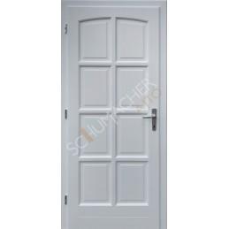 V8 - Fa bejárati ajtók