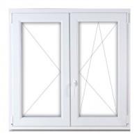 Kétszárnyú bukó-nyíló ablakok